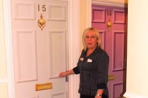 Dementia-friendly doors recommended by Stirling University